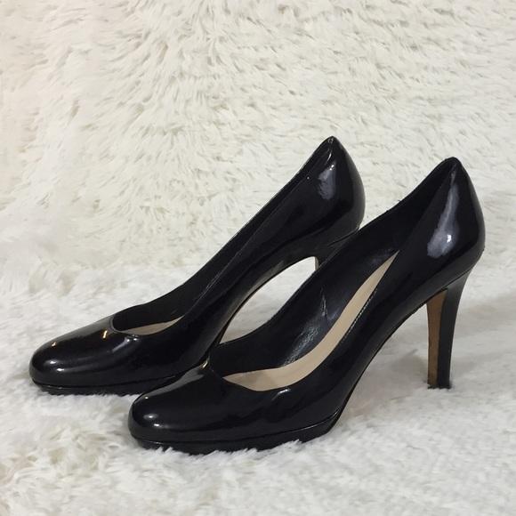 7528d09aacf5 kate spade Shoes - Kate Spade Karolina black patent leather heels 8